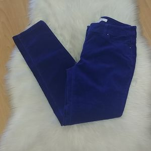 Chico's Purple Thin Wale Corduroy Pants